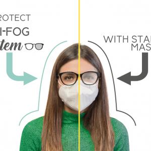 mascherine ffp2 anti appannamento