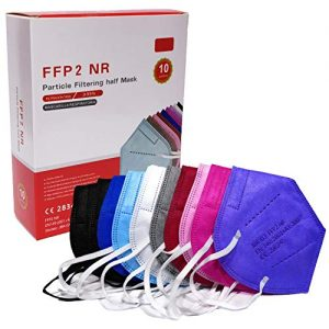 MASCHERINE FFP2 pacco da 10 mix colori